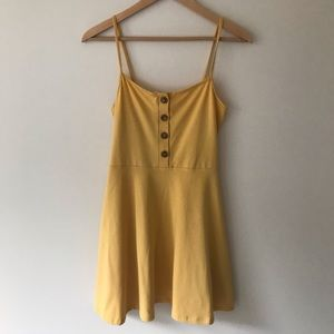NWT F21 Yellow Sundress